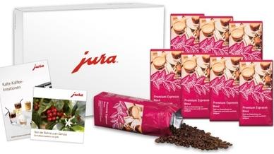 """Beim Kauf einer """"ENA 8"""" von Jura dürfen sich Kunden über ein attraktives Genusspaket freuen."""