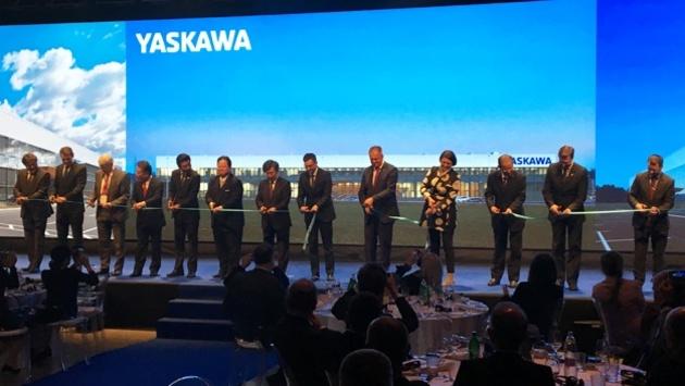 Yaskawa Europe Roboter-Fabrik in Slowenien offiziell eröffnet
