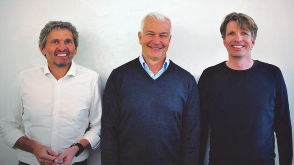 Erfolgreicher Zusammenschluss: Die drei Geschäftsführer Matthias Fricke, Sven Ließ (e-GITS) und Manfred Garz.