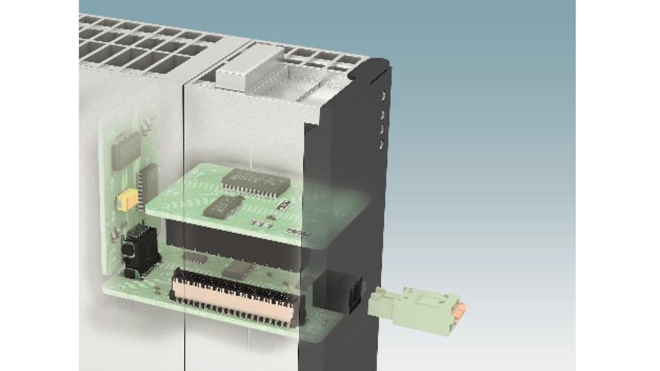 Bild 1: Board-to-Board-Steckverbinder dienen der mezzaninen, orthogonalen und koplaneren Verbindung von Leiterplatten im Geräteinneren.