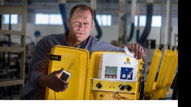 Das mobile Solarenergie-System erhielt den diesjährigen Edison Award.