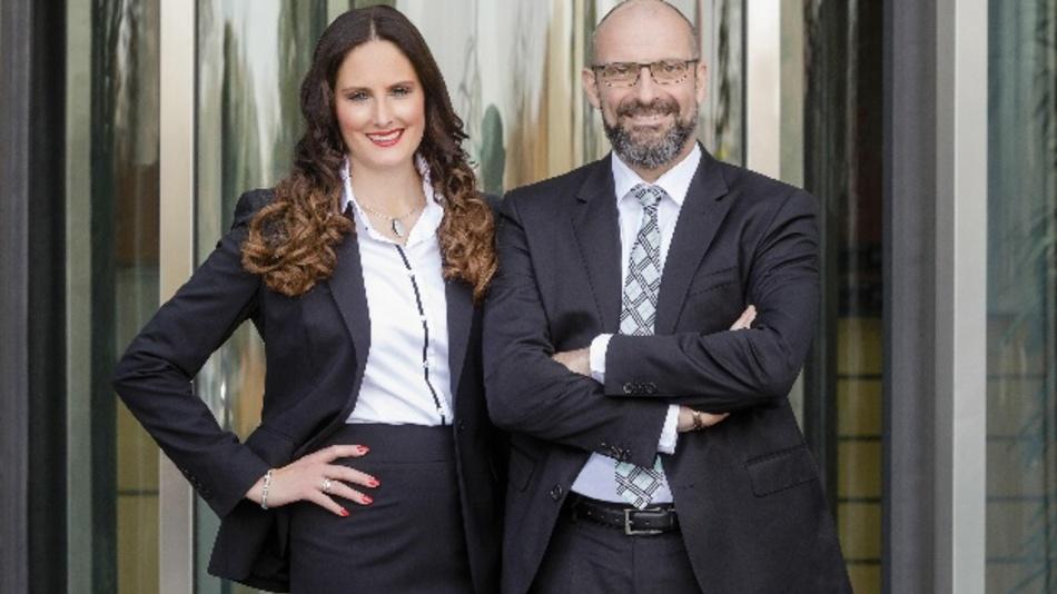 Meike und Ulrich Schmidt, Geschäftsführung der Lumberg-Gruppe.