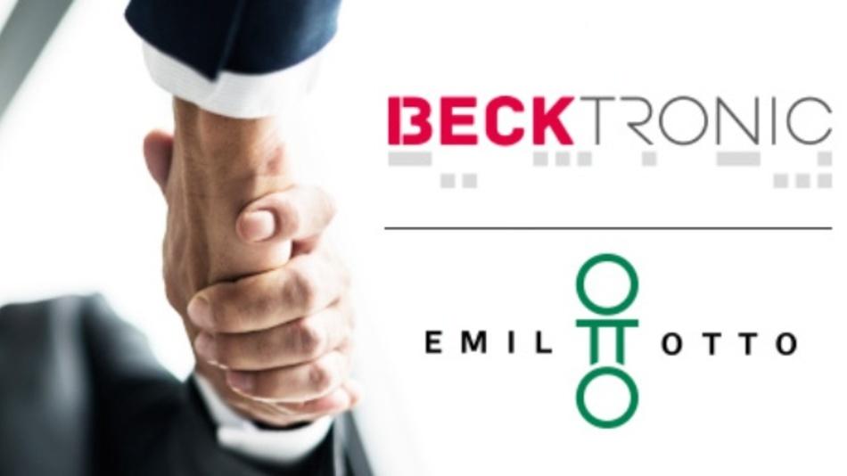 Kooperation mit Emil Otto: Becktronic erweitert seine Vertriebsaktivitäten.