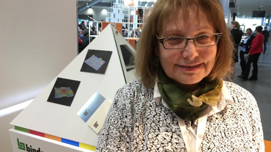 """Elisabeth Warsitz, binder: »Jetzt haben wir ein breites Fundament an Know-how geschaffen und seit einem Jahr laufen die ersten großen Projekte mit den Anwendern, sie haben erkannt, dass das """"Binder-Verfahren"""" einige interessante Vorteile gegenüber gängigen Techniken aufweist.«"""