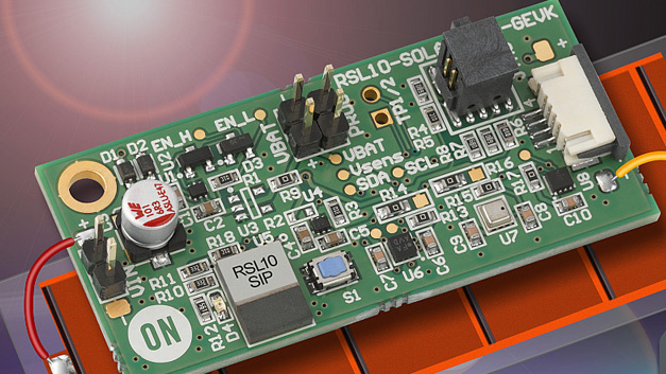 Solarbetriebene Multi-Sensor-Plattform für Funksensoren