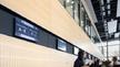 Messe Dortmund Wegeleitsystem Eingangshalle Counter