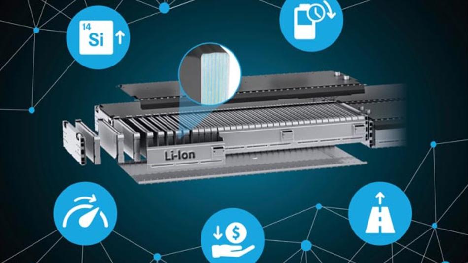 Daimler und Sila Nanotechnologies schließen Kooperation und arbeiten an neuen Batteriematerialien.