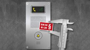 Die Vorschriften gemäß EN 81-28 geben Richtlinien für die Notruf-Ausrüstung in Aufzügen.
