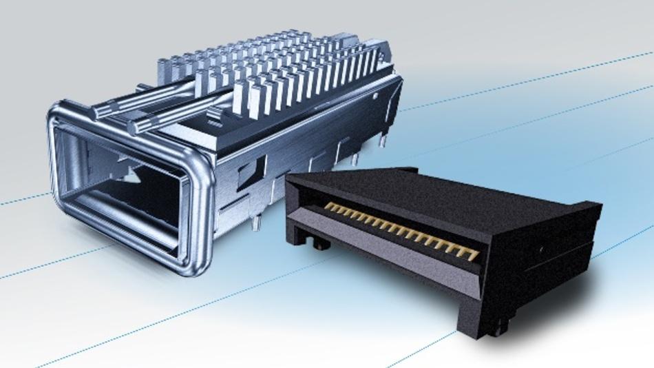 Yamaichi Electronics erweitert die Varianten des QSFP-Steckverbinders um den QSFP56.