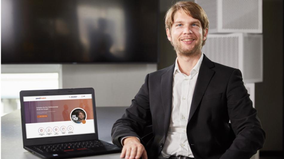 """Tristan Niewöhner, Gründer und Geschäftsführer von persomatch  und Experte für """"Google for Jobs"""""""