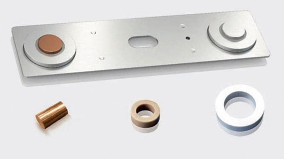 Bild 2. Batteriedeckel mit GTAS-Technik und Bauteile.