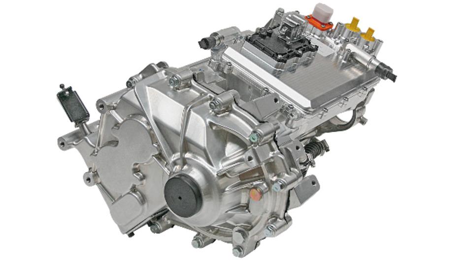 Der Integrierte elektrische Achsantrieb von Continental.