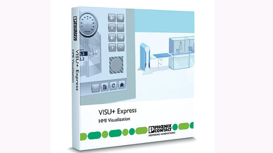 """Bild 4. Mit der Visualisierungssoftware """"Visu+ Express"""" lassen sich HMI-Konzepte schnell und einfach umsetzen."""