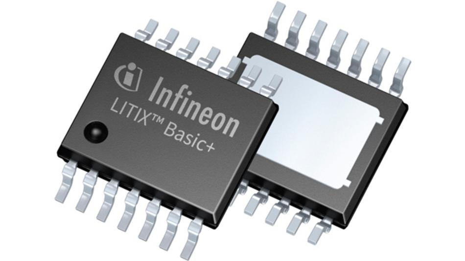 Bild 1. Die LED-Treiber-ICs LITIX Basic+ von Infineon bieten erweiterteDiagnosefunktionen zur Kurzschlussdetektion, wie sie von vielen Automobilherstellern gefordert werden.