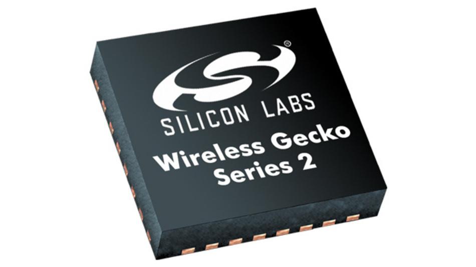Neue Generation »Series 2« der Wireless-Gecko-SoCs von Silicon Labs.