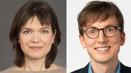 Dr. Inessa Seifert und Dr. Leo Wangler