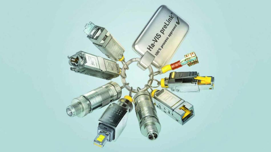 Bild 3: Eine Spezialität der Anschlusstechnik – das preLink-System von Harting.
