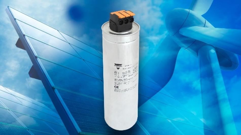 Die Kondensatoren lassen sich schneller anschließen und gewährleisten in vibrationsbelasteten Alternativenergie-Anwendungen eine zuverlässige Verbindung.