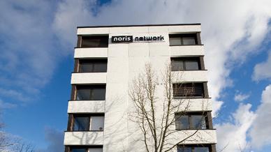 Noris network Unternehmenssitz in Nürnberg