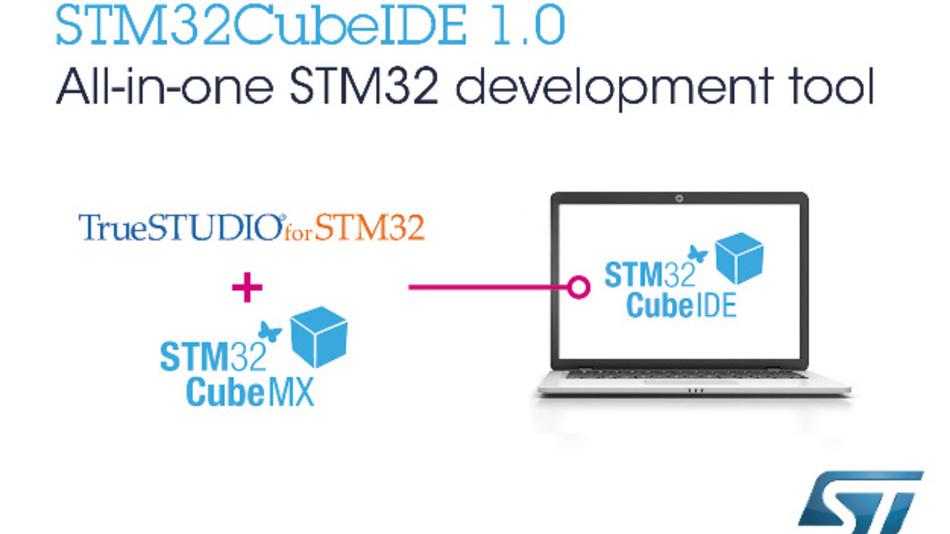 Die kostenlose und vollintegrierte STM32CubeIDE wartet mit leistungsstarken Features auf.