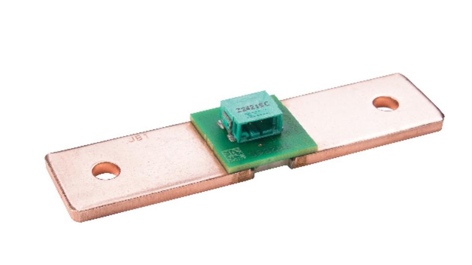 Der BAC-Shunt von Isabellenhütte fasst Shunt und Platine als eine Einheit zusammen und ermöglicht den direkten Zugang zu Messsignalen.