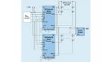 Typische Anwendungsschaltung für einen LED-Treiber für lokales Dimmen
