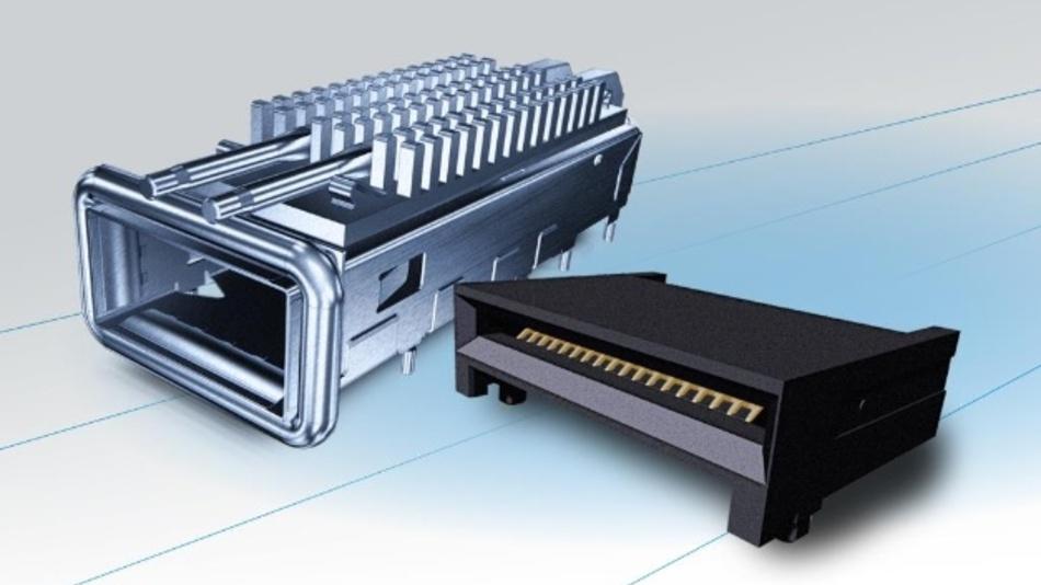 Der Data-Networking-Steckverbinder QSFP56 unterstützt HDR 200G Infiniband.