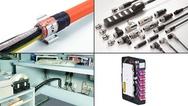 Bildcollage zu aktuellen Produkten aus der Verbindungstechnik im April 2019