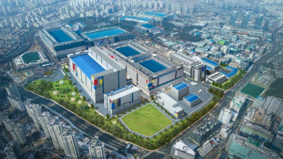 Das Werk von Samsung in Hwaseong, wo das Unternehmen die ersten EUV-Linien aufgebaut hat.