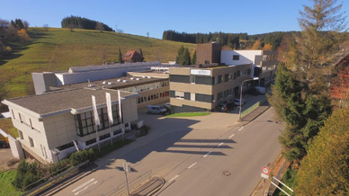 Hauptsitz der Firma Wiha in Schonach im Schwarzwald.