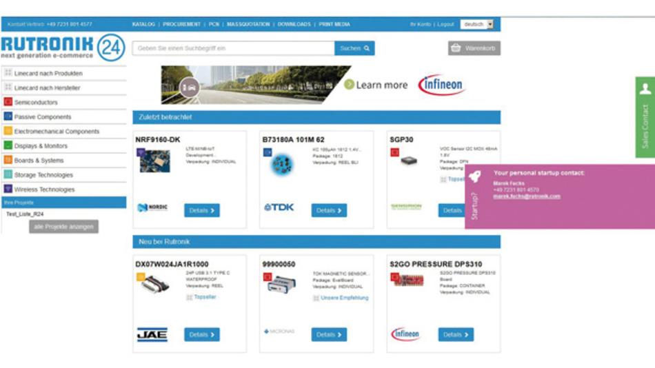 Rutronik24 ist die Rutronik-Vertriebsorganisation für KMU und große Unternehmen  mit kleineren und mittleren Bedarfen.