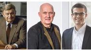 Die drei Wiha prägenden Generationen: Firmengründer Willi Hahn, sein Sohn Wilfried Hahn, der auch heute noch Teil der Geschäftsleitung ist und aktueller Geschäftsführer Wilhelm Hahn.