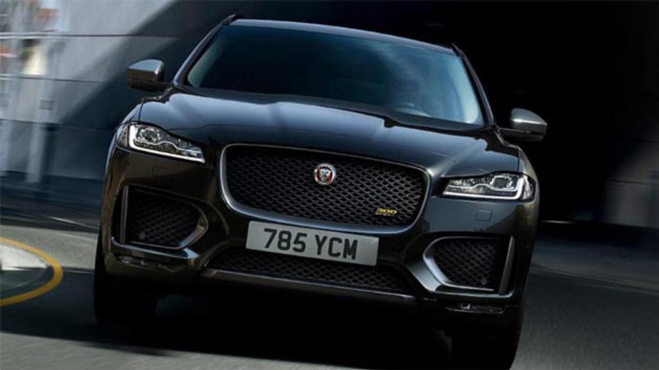Jaguar-Fahrer, z. B. dem neuen F-Pace können durch das Teilen von Daten IOTA verdienen.