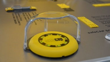 Kapazitive Taster mit Sensortechnologie, Captron