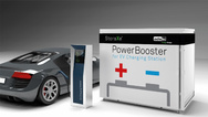 Der Minicontainer »PowerBooster« für Automotive-Schnellladestationen und Netzdienstleistung.