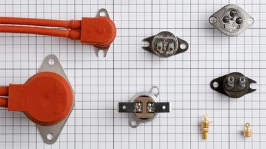 Thermoschalter gibt es heutzutage in vielen Typvarianten für elektrische/elektronische Geräte und Systeme unterschiedlicher Art.