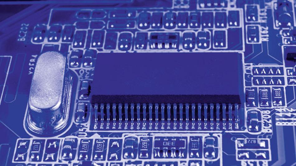 Quarz als präziser Taktgeber für Mikroprozessoren - bisher unverzichtbar, aber voluminös.