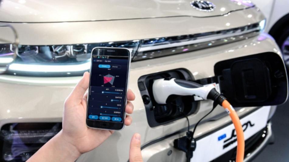 Über die Hyundai-App soll der Fahrer bald sieben Leistungsparameter eines Elektrofahrzeugs einstellen können.