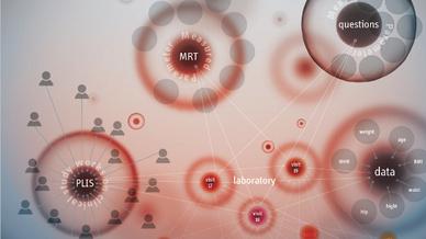 Mithilfe von Graphtechnologie können Daten standortübergreifend verbunden und abgefragt werden.