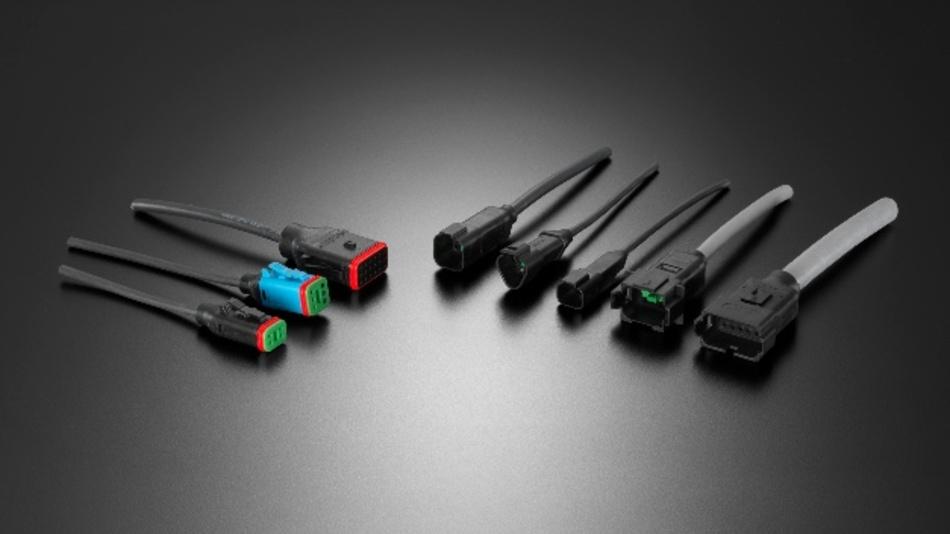 Umspritzte Kabelverbindungen von EVG.