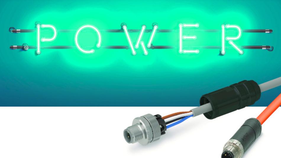 M12-Leistungssteckverbinder von Phoenix Contact sind für unterschiedliche Anforderungen ausgelegt.