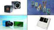 Bildcollage zu Produkten aus der Industriellen Bildverarbeitung im Frühjahr 2019