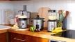 """Neben zwei Mini-Wasserkochern, einem Mini-Toaster und einer Mini-Glas-Kaffeemaschine wartet die """"Compact Home""""-Serie von Russell Hobbs außerdem auch mit einem Food-Processor, einem Glas-Standmixer und einem Schongarer im kleinen Format auf."""