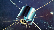 Die Forschung bei Sharp entwickelte auch langlebige Module für die Satellitentechnik.