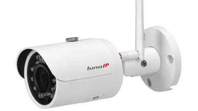 Die IP-WLAN-Videokamera liefert mit IR-LEDs auch nachts bis zu 30 m Entfernung beste Bilder.