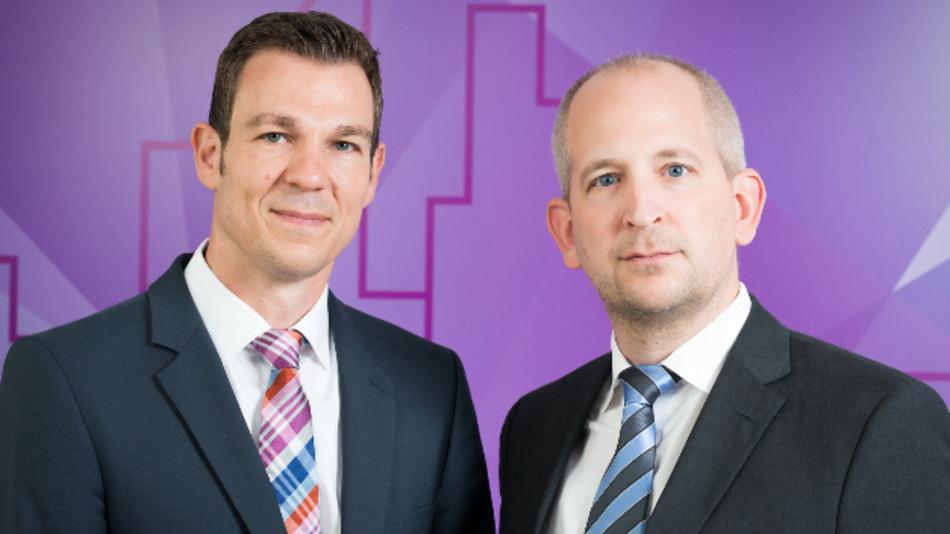 Marc Tesch und Matthias Ochs (v.l.n.r.), Geschäftsführer von Genua, erweitern mit der Übernahme von Cognitix das Portfolio an IT-Sicherheitslösungen.