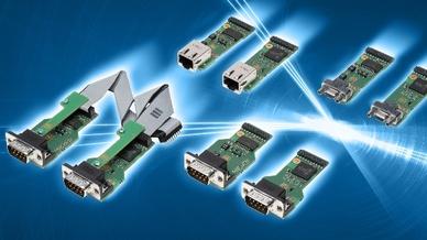 Die SUE-SUJ-Serie bietet isolierte COM-Port-Transceiver-Module.