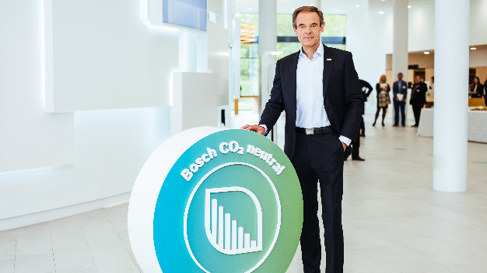 Dr. Volkmar Denner, Vorsitzender der Geschäftsführung der Robert Bosch GmbH: »Klimawandel ist keine Science-Fiction. Er findet real statt. Wollen wir das Pariser Klimaabkommen ernst nehmen, darf Klimaschutz nicht nur als langfristiges Fernziel verstanden werden. Er muss kurzfristig stattfinden«.