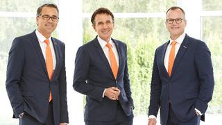 Die Geschäftsführung der Kübler-Group (v.l.n.r.): Lothar Kübler, Gebhard Kübler und Martin Huth