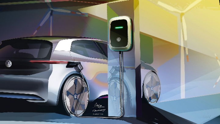 Leistungsmodule von Infineon steuern den Elektroantrieb in der ID.-Produktfamilie von Volkswagen.